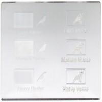 Esempio incisione - Plexiglass specchio argento per il taglio laser