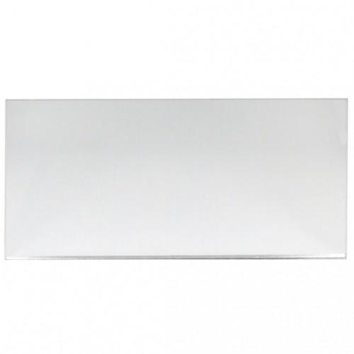 Campione - plexiglass specchio argento per il taglio laser