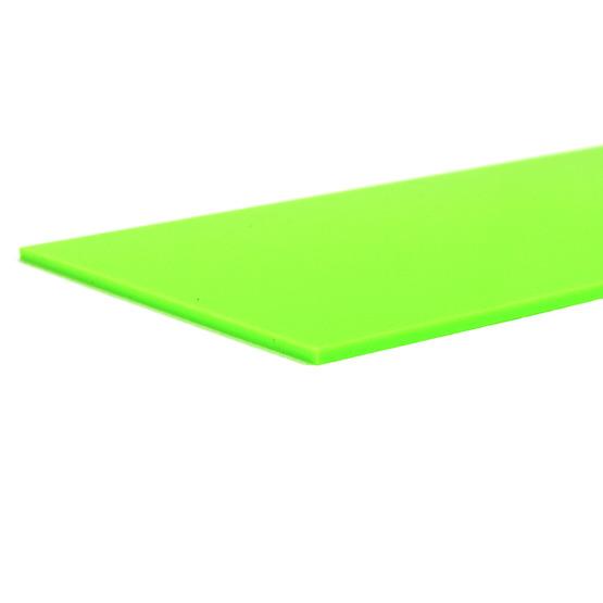 Bordi tagliati - Plexiglass verde chiaro per il taglio laser