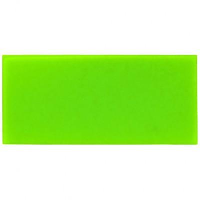 Campione - plexiglass verde chiaro per il taglio laser