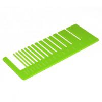 Test precisione- plexiglass verde chiaro per il taglio laser