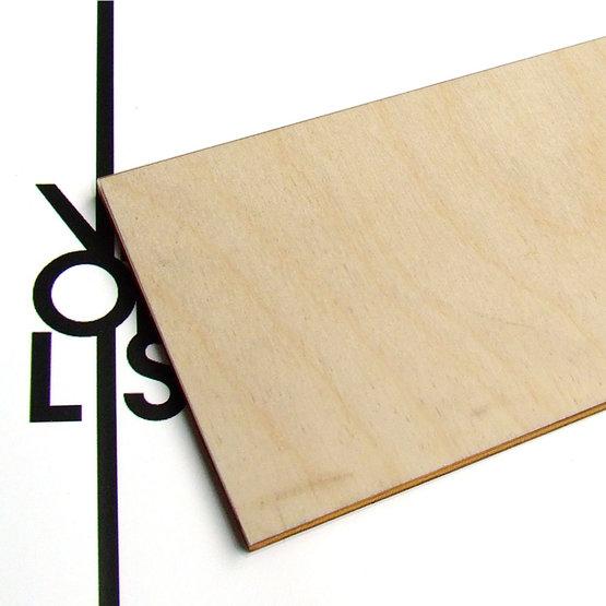 Superficie - compensato di betulla per il taglio laser