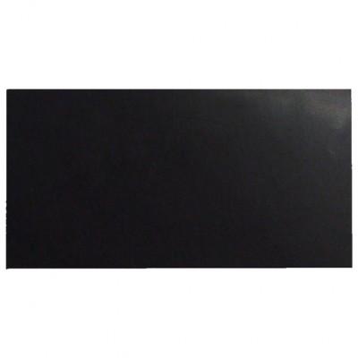 Campione - pelle conciata al vegetale nera per il taglio laser