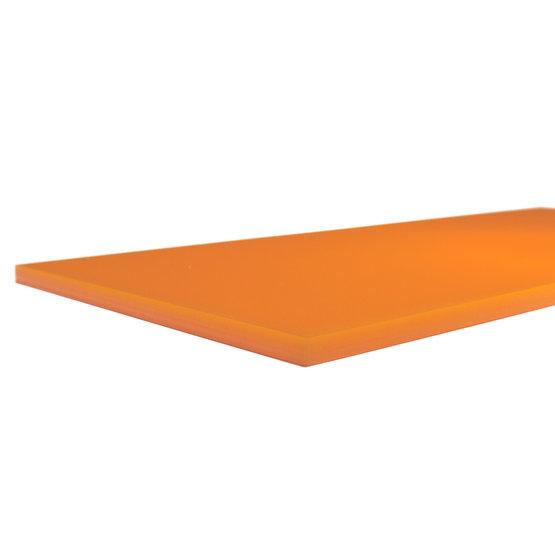Bordi tagliati - Plexiglass mandarino per il taglio laser