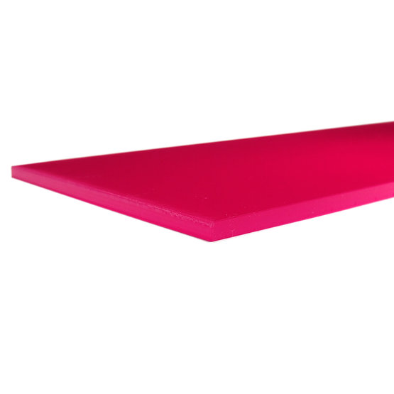 Bordi tagliati - Plexiglass magenta diffusore per il taglio laser