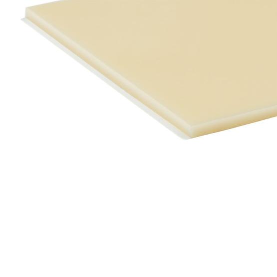 Bordi tagliati - Plexiglass crema per il taglio laser