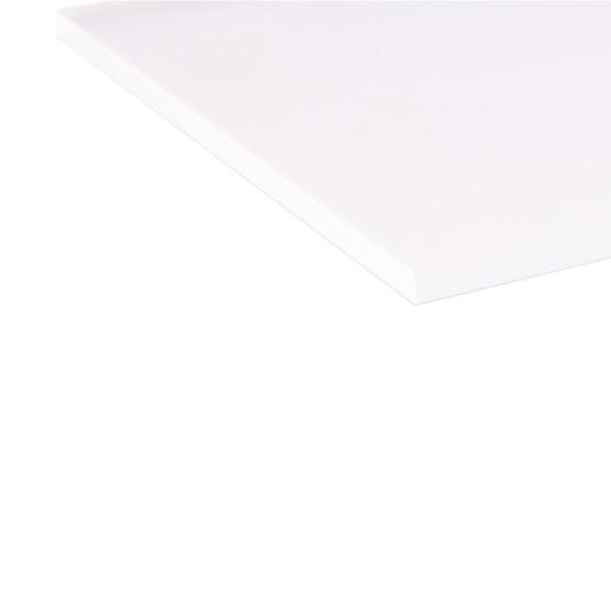 Bordi tagliati - Plexiglass trasparente satinato su due lati per il taglio laser