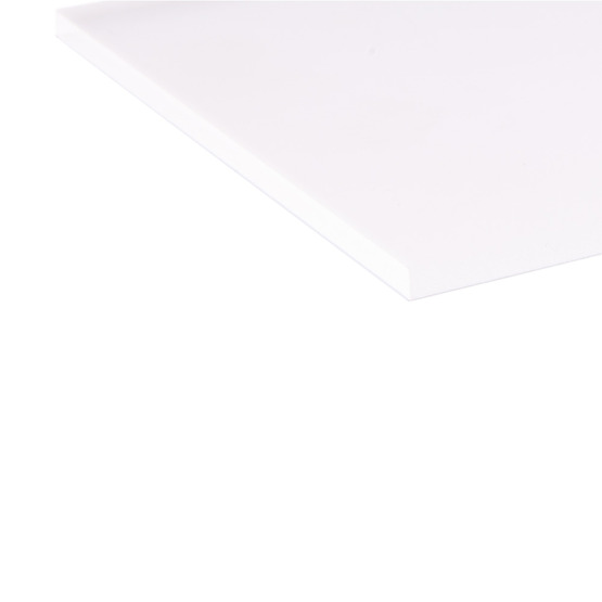 Cut edges - Plexiglass transparent satin on two sides for laser cutting