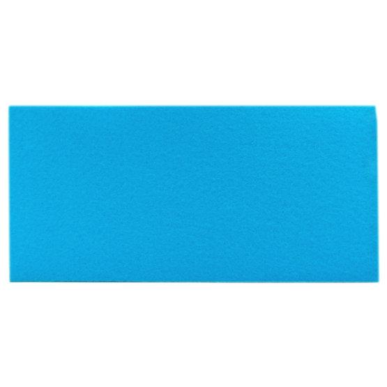 Sample - light blue felt for laser cutting