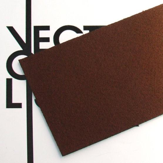 Surface - feutre brun pour découpe laser