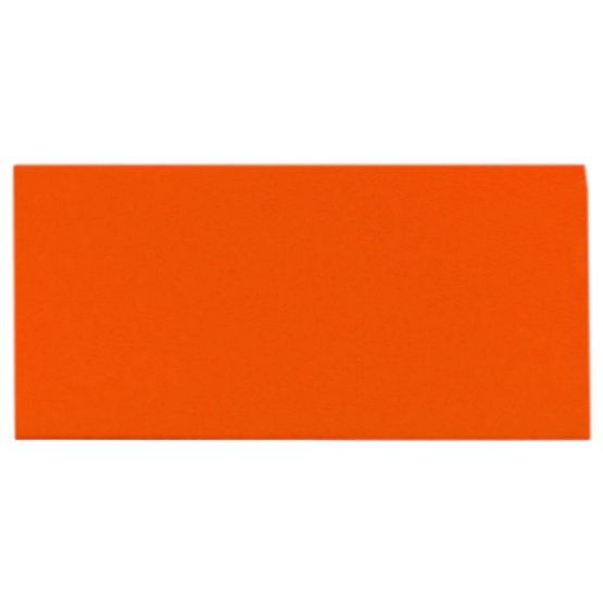 Sample - orange felt for laser cutting