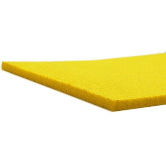 Bordi tagliati - feltro giallo per il taglio laser