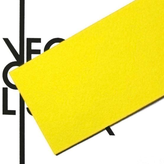 Superficie - feltro giallo per il taglio laser