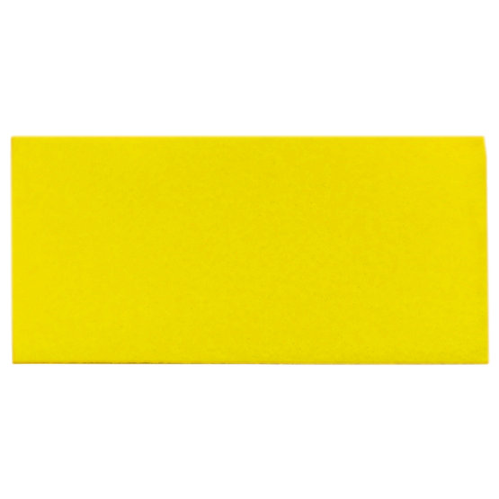 Sample - yellow felt for laser cutting