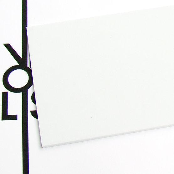 Superficie - plexiglass bianco per il taglio laser