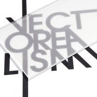 Superficie - plexiglass trasparente satinato su due lati per il taglio laser