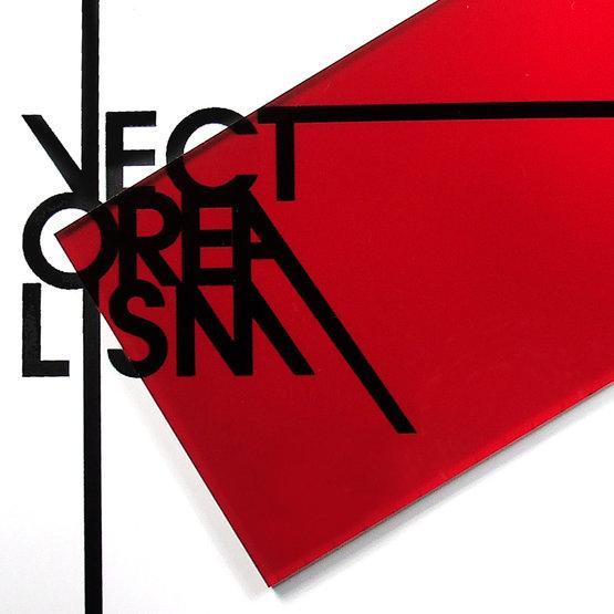 Plexiglass rosso trasparente per il taglio laser