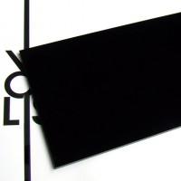 Superficie - plexiglass nero per il taglio laser