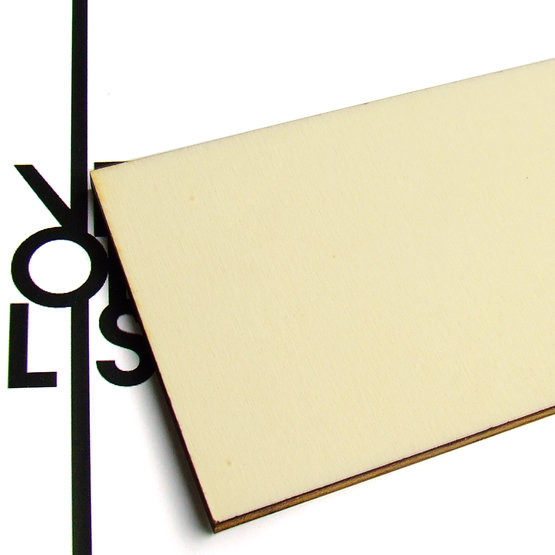 Surface - poplar plywood for laser cutting