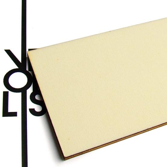 Surface - contreplaqué de peuplier pour découpe au laser