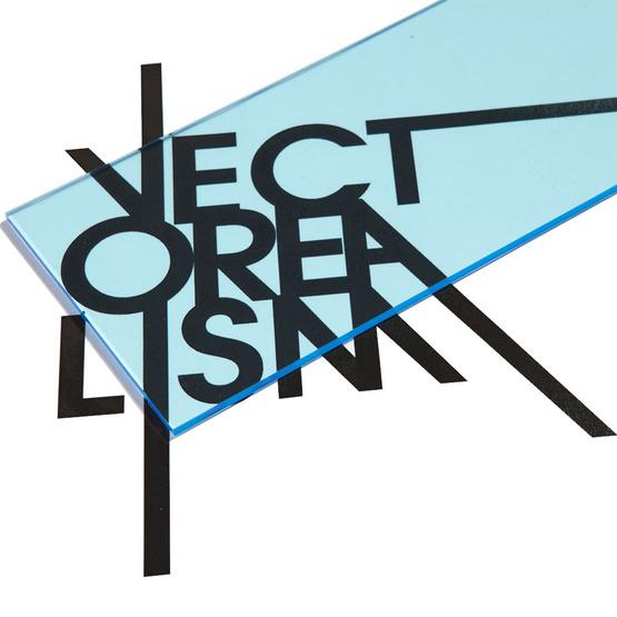 Superficie - plexiglass celeste trasparente per il taglio laser