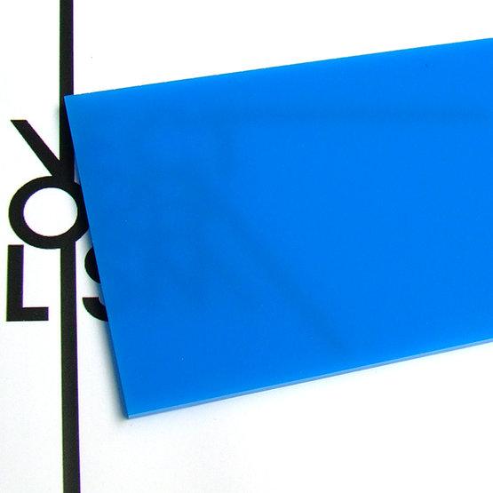 Surface - light blue plexiglass for laser cutting