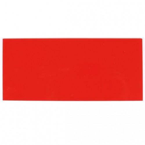 Campione - plexiglass rosso fragola per il taglio laser