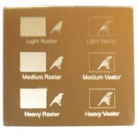 Esempio incisione - Plexiglass specchio oro per il taglio laser