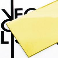Superficie - plexiglass specchio oro per il taglio laser