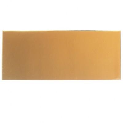 Campione - plexiglass specchio oro per il taglio laser