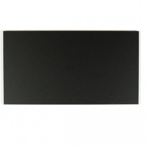 Campione - plexiglass nero satinato per il taglio laser