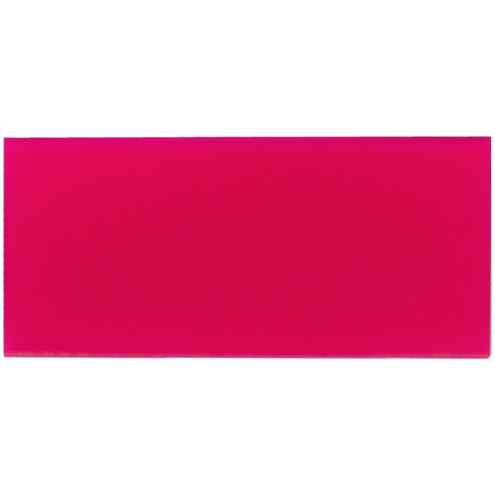 Sample - magenta plexiglass diffuser for laser cutting