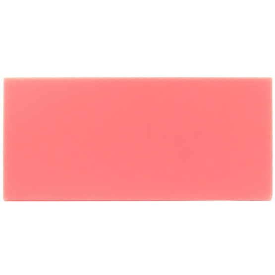Sample - pink plexiglass for laser cutting