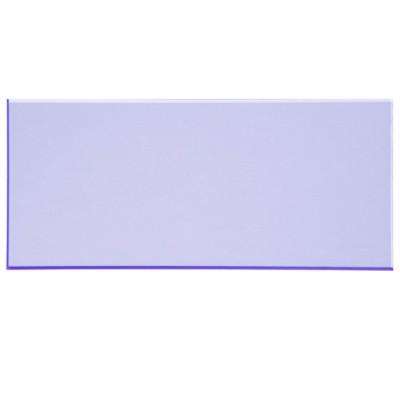 Campione - plexiglass azzurro fluo per il taglio laser