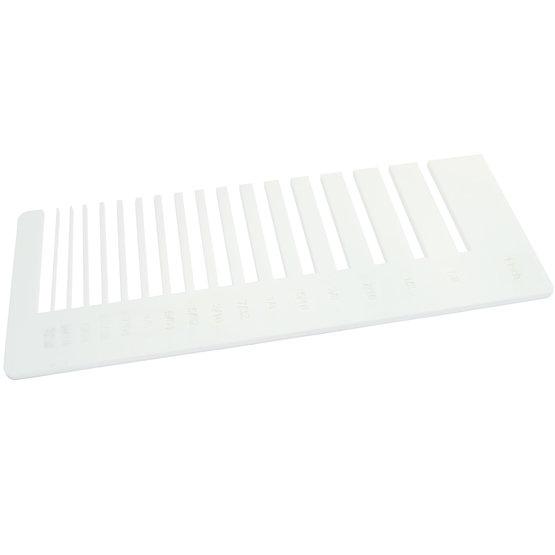Test precisione - Plexiglass bianco per il taglio laser