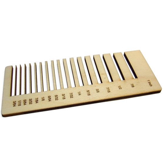 Precision test - poplar plywood for laser cutting