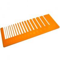 Test precisione- plexiglass mandarino per il taglio laser