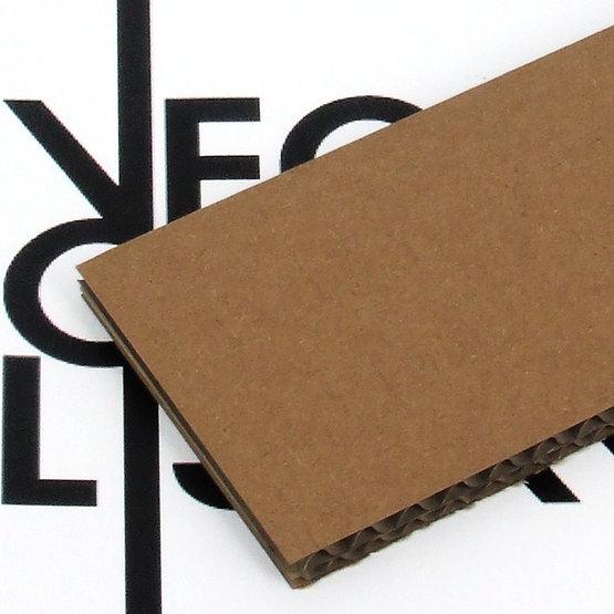 Cartone ondulato doppio per il taglio laser
