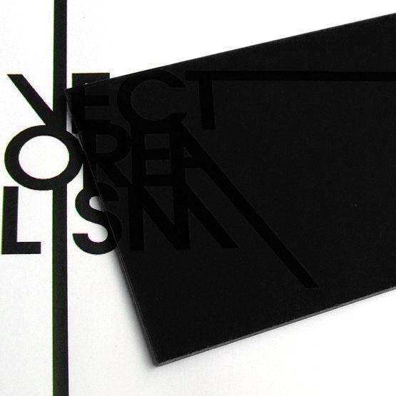 Plexiglass nero fumé