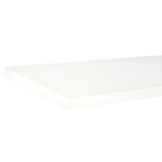 Plexiglass opalino - bordo tagliato al laser