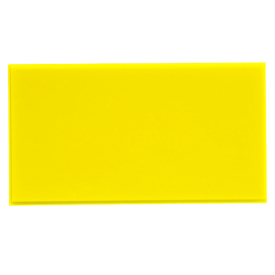 Fluo yellow plexiglass