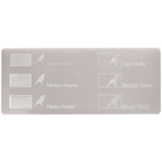 Plexiglas grigio tortora - incisioni laser