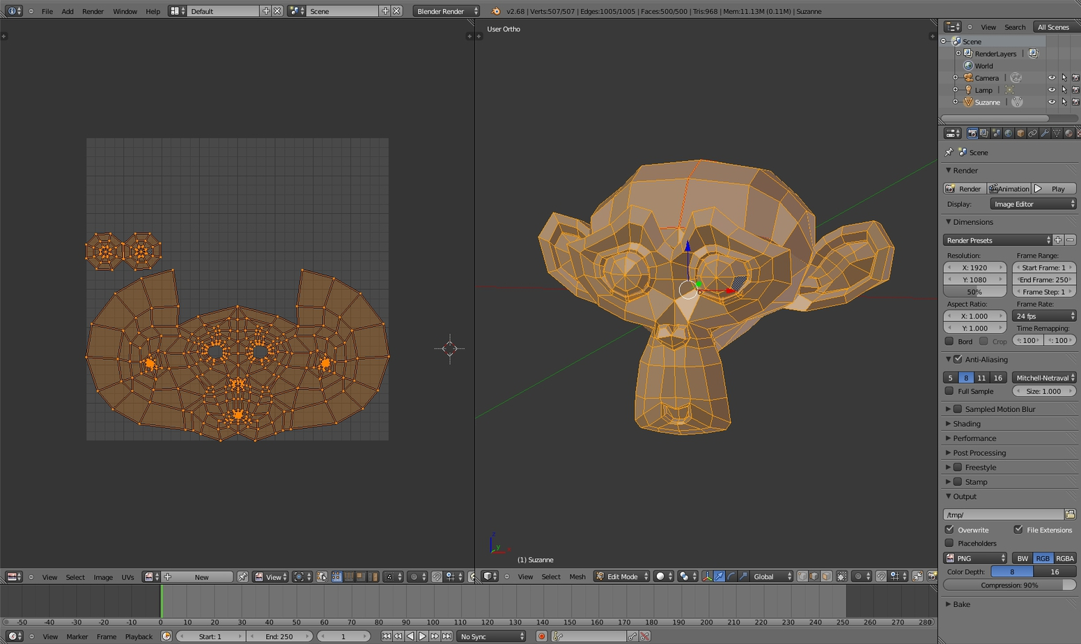 fig_6_ Blender UV unwrapping