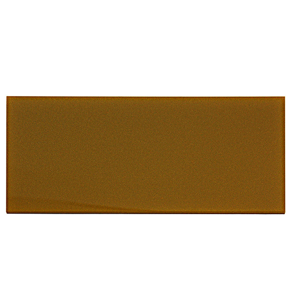 Metalized gold Plexiglass - sample