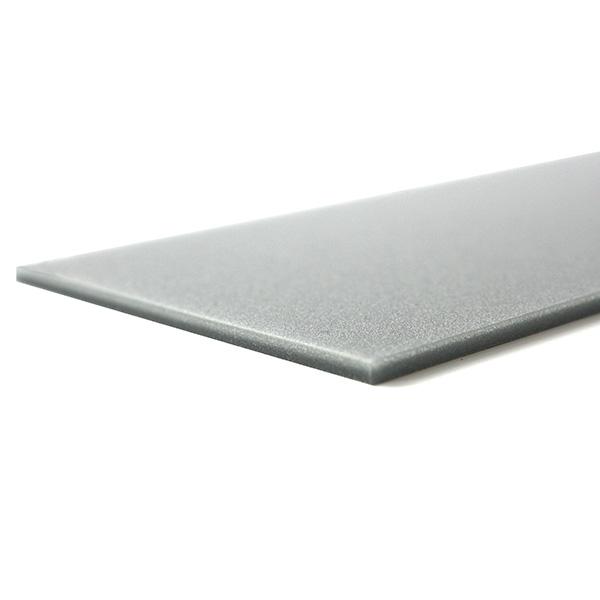 Plexiglass grigio metalizzato - prova taglio laser