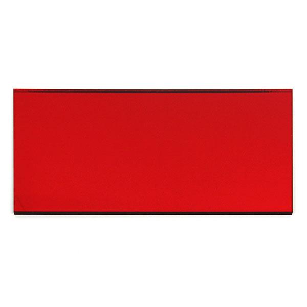 Plexiglass miroir rouge - échantillon
