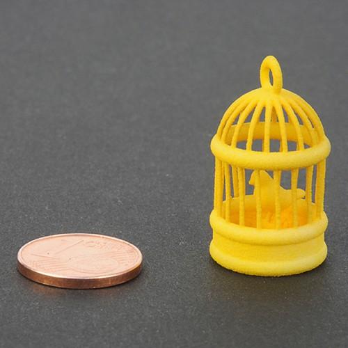 Plastica gialla per stampa 3D - campione