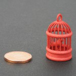 Plastica rossa per stampa 3D - campione