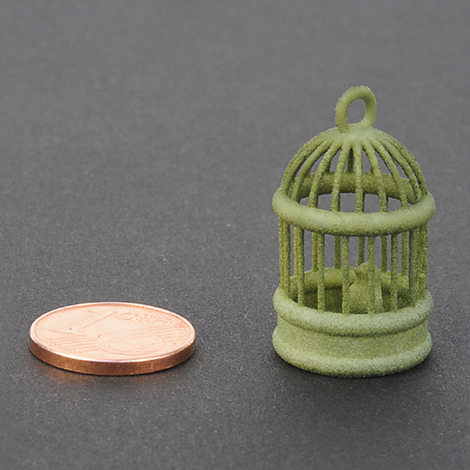 Green plastic for 3D printing - sample