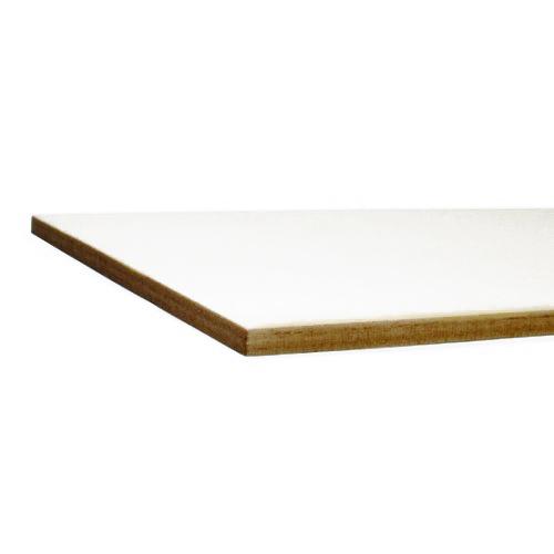 Bordo tagliato al laser - cartone bianco